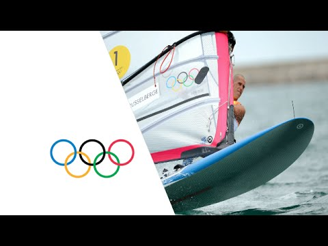 Sailing RS:X Men Medal Race - Full Replay   London 2012 Olympics