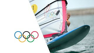 Sailing RS:X Men Medal Race - Full Replay | London 2012 Olympics