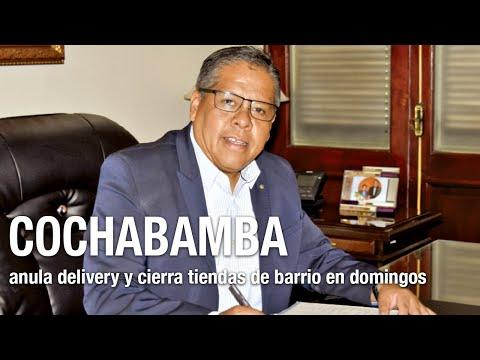 COVID-19: Cochabamba anula el delivery y cierra hasta tiendas de barrio en domingos