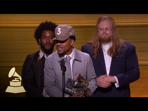 Chance the Rapper Wins Best New Artist | Acceptance Speech | 59th GRAMMYs