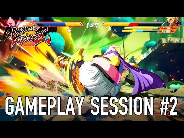 Dragon Ball FighterZ - XB1/PS4/PC - Gameplay session #2