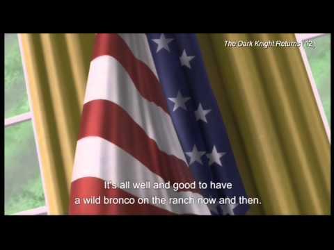 "(clip17) ""A wild bronco""-The Dark Knight Returns"