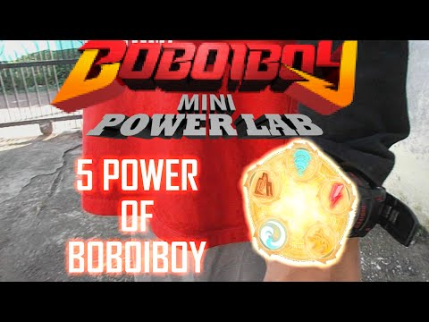 BoBoiBoy Mini Power Lab -- 5 power of BoBoiBoy