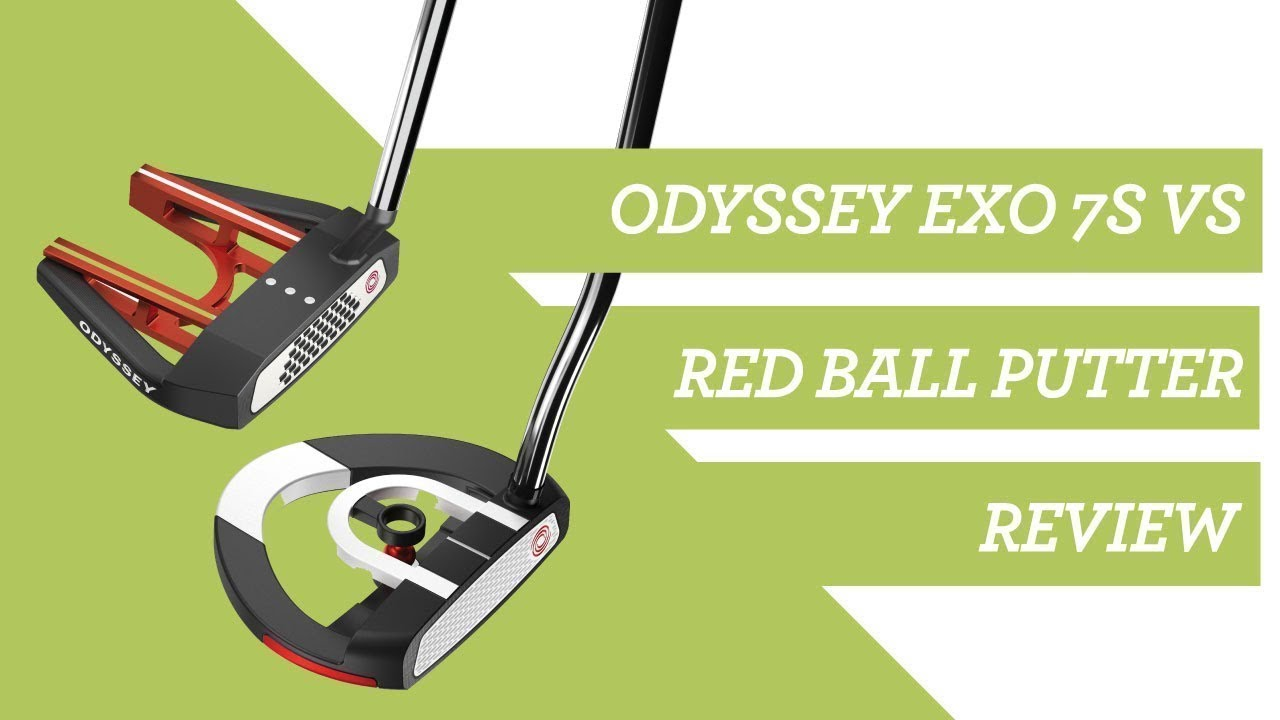 Odyssey Putters: EXO 7S Versus Red Ball Review #OdysseyPutters #Putters  #AlignmentPutters