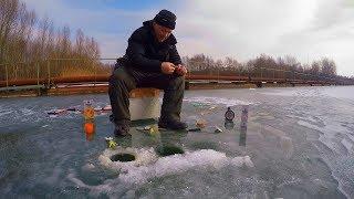Рыбалка в Германии 44  Зимняя рыбалка по мартовскому льду