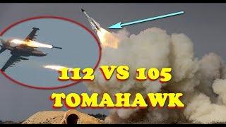 Syria CHỈ CẦN BẮN 112 tên lửa để chống trả đòn không kích Mỹ