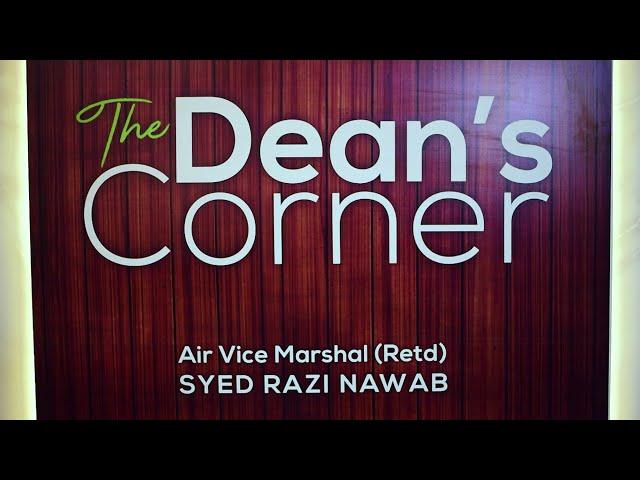 The Dean's Corner - Promo 1