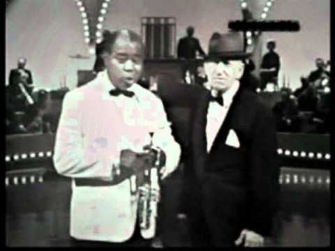 Louis Armstrong & Jimmy Durante sing Old Man Time