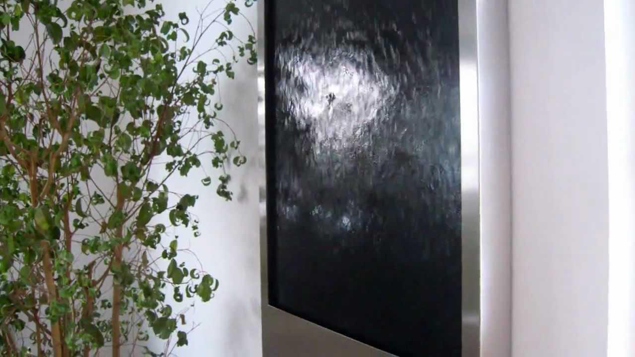 Bezaubernd Wandbrunnen Modern Galerie Von Wasserbild Black Mustang
