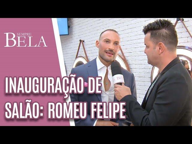 Sylvio na Inauguração do Salão Romeu Felipe - Sempre Bela (10/03/19)