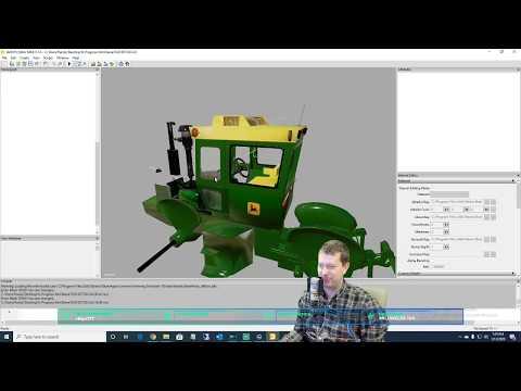Modding! John Deere 7520 Working On Glass With Blender RDAllen 01 13 2020