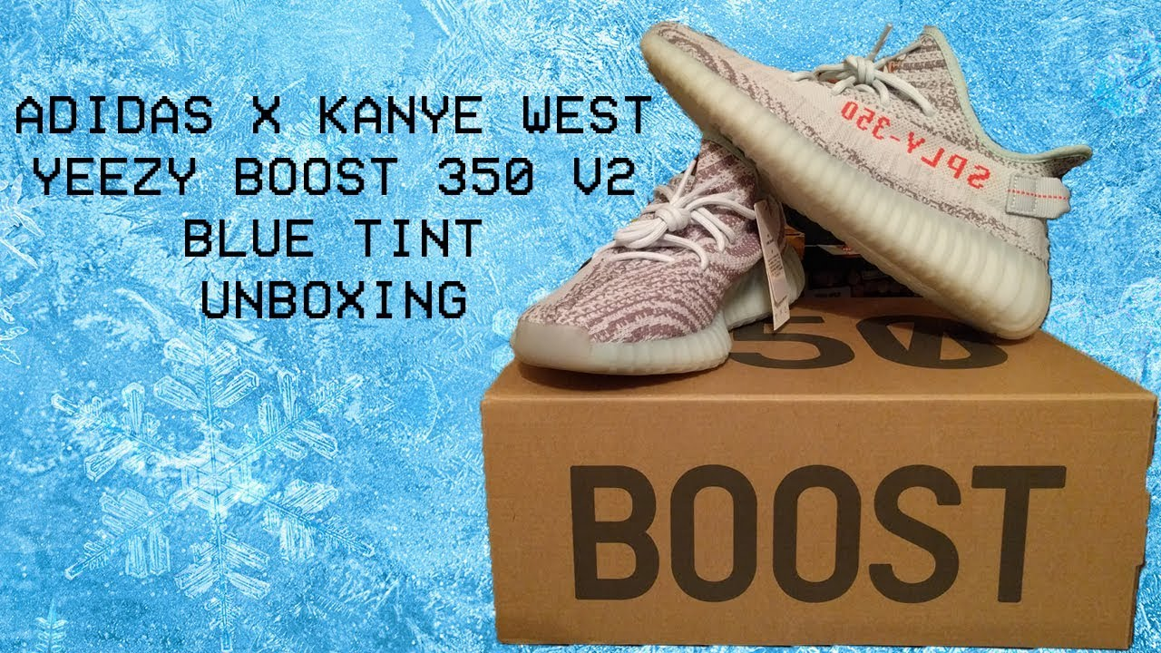 1ecfc8bd0 Unboxing the Adidas Originals x Kanye West YEEZY Boost 350 V2 Blue Tint