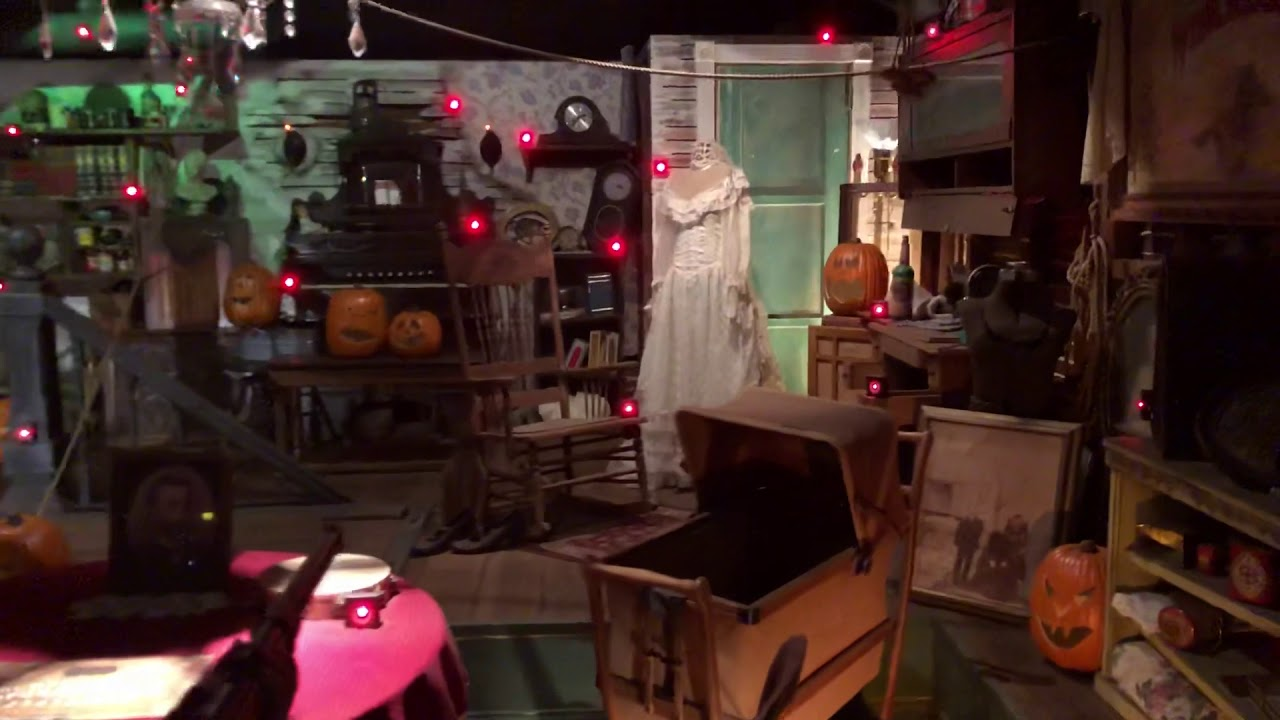 winchester mystery house halloween shooting gallery 2018 - youtube