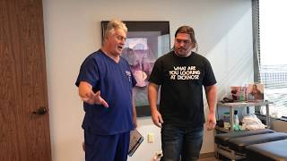Dallas Weightlifter Gets Instant Relief On His First Adjustment At ACR LLC