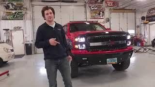 "Video Custom Chevy Silverado Truck ""Big Red"" by RealTruck For Sale download MP3, 3GP, MP4, WEBM, AVI, FLV Juli 2018"