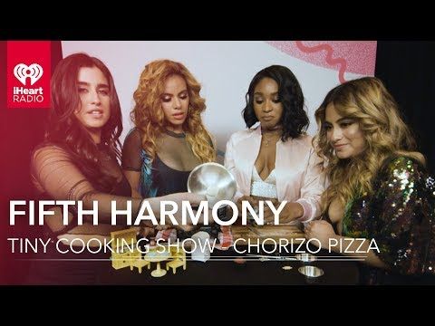 Fifth Harmony Cooks a Tiny Pizza | Tiny Cooking Show