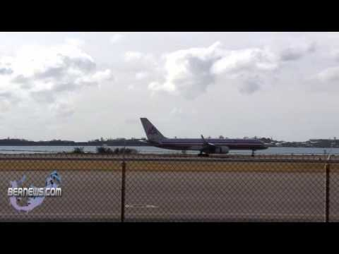 AA Plane Diverts to Bermuda for Sick Passenger Jan 14th 2011