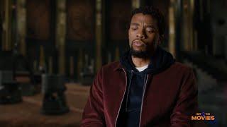 Black Panther Interview with Chadwick Boseman