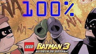 Lego Batman 3 FR 100% Niveau 16 Même Heure, Même Chaîne !