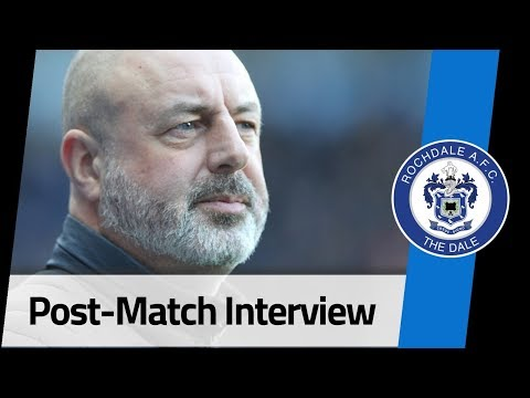 INTERVIEW | Keith Hill Post-Portsmouth FA Cup Tie