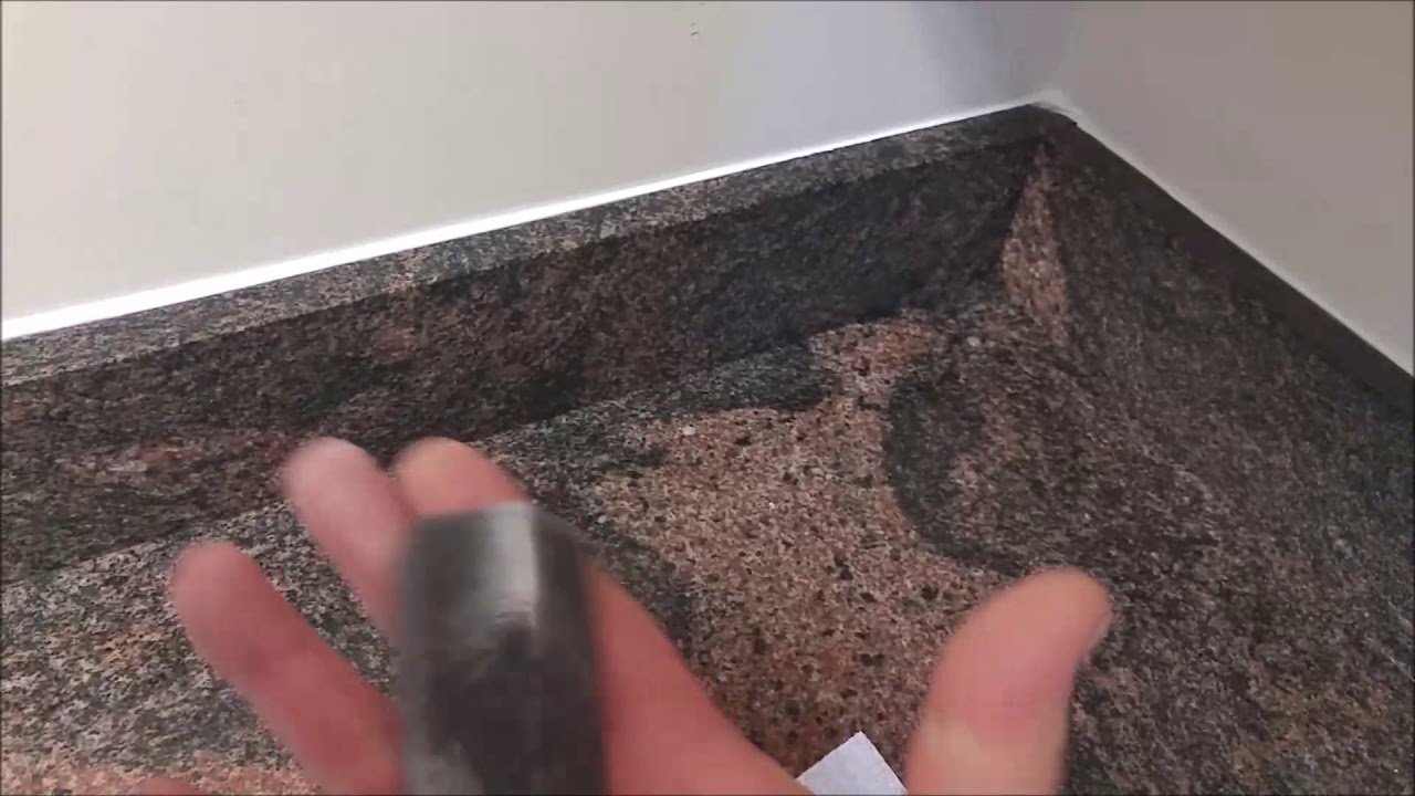 - How To Caulk A Back Splash-Caulk Finger - YouTube