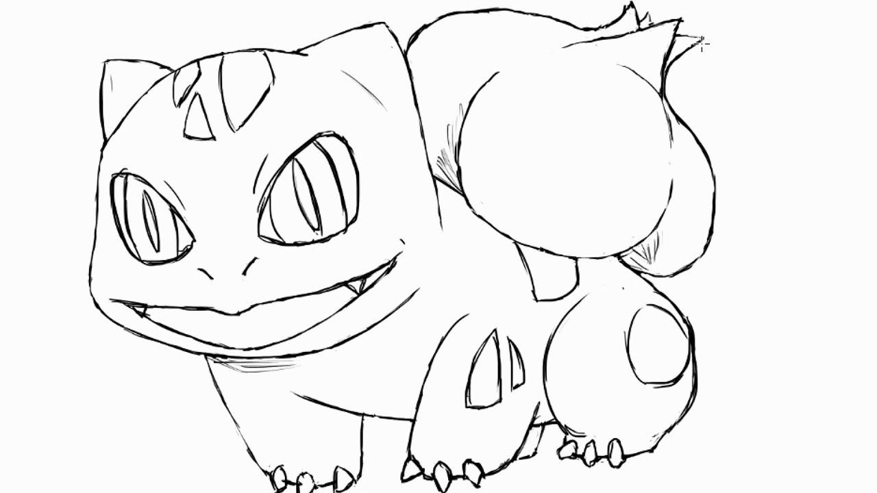 Desenhando Bulbasaur Youtube
