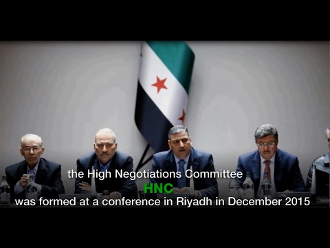 Politics in a Revolution: Syrian Opposition's High Negotiations Committee (HNC)