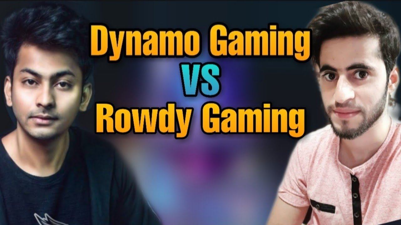 Dynamo gaming vs Rowdy gaming | Who is the best PUBG Mobile player?