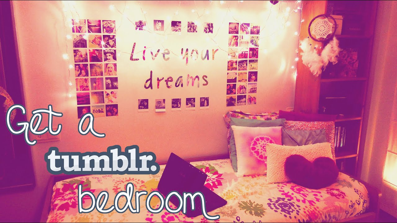 Diy tumblr inspired room decor ideas cheap easy proj doovi - Tumblr rooms ideas diy ...