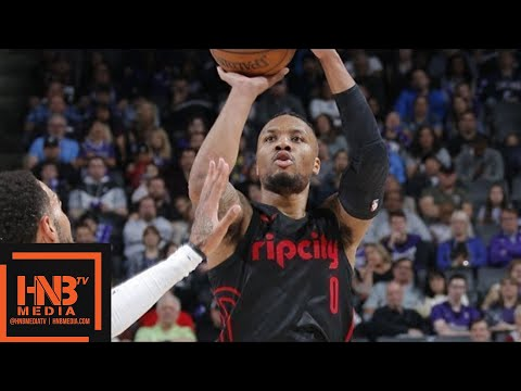 Portland Trail Blazers vs Sacramento Kings Full Game Highlights / Feb 9 / 2017-18 NBA Season