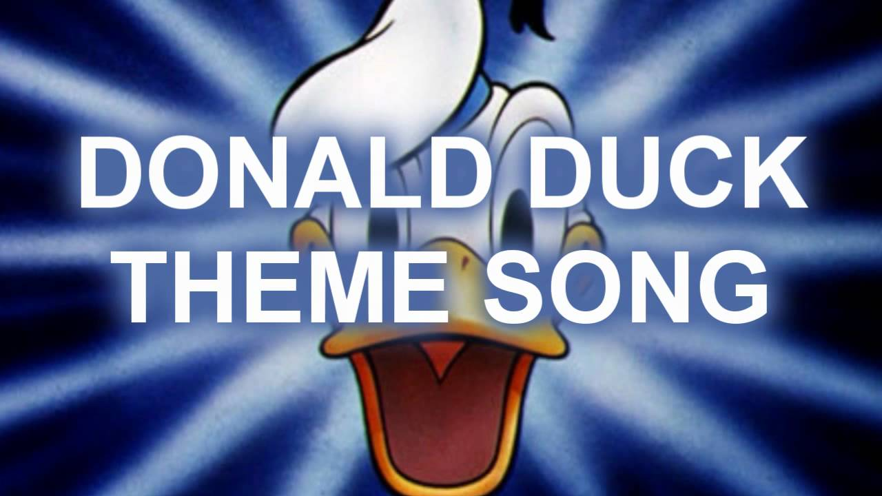Donald Duck Theme Song With Lyrics