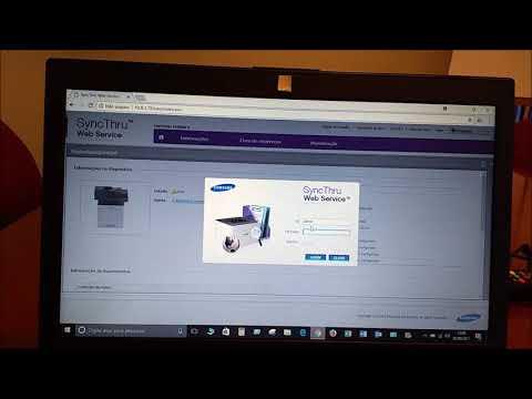 Configuração scanner (SMB) Samsung M4080FX