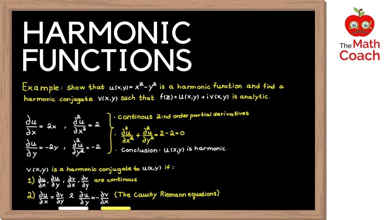 Harmonic functions   Harmonic conjugate   Complex Analysis #3