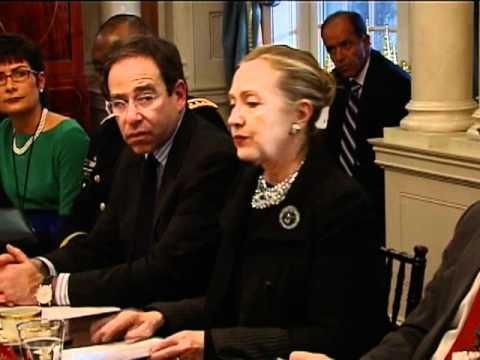Secretary Clinton Comments on U.S.-Iraq Partnership