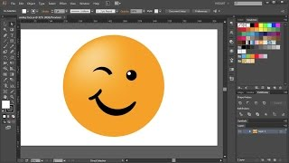 How to Draw a Smiley Face in Adobe Illustrator