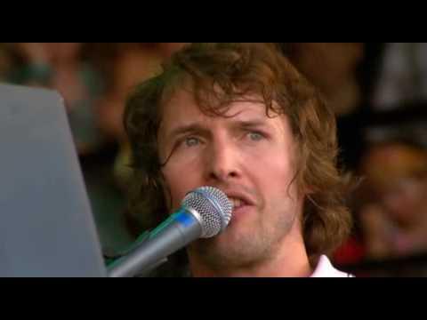 James Blunt Goodbye My Lover Live@Glastonbury 2008