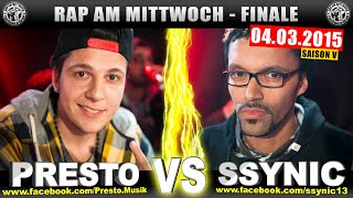 RAP AM MITTWOCH: Presto vs Ssynic 04.03.15 BattleMania Finale (4/4) GERMAN BATTLE