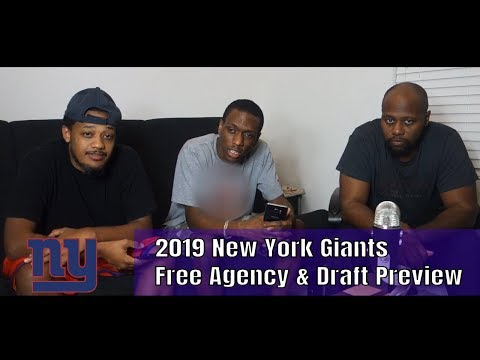 2019 New York Giants Offseason Preview - Free Agency & Draft (CPGM)