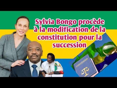 Gabon:Sylvia Bongo procède à la modification de la constitution pour la succession.