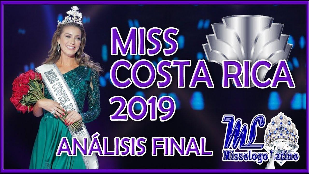 Miss Costa Rica 2019 - Análisis Final