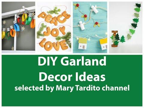DIY Garland Ideas – Garland Room Decor - Christmas Garland Ideas