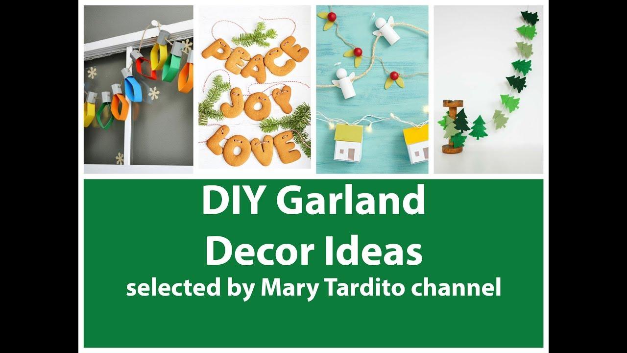 Diy Garland Ideas Garland Room Decor Christmas Garland Ideas