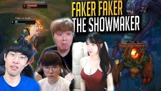 【隨機】Faker的驚人操作秀翻Showmaker!- LoL英雄聯盟
