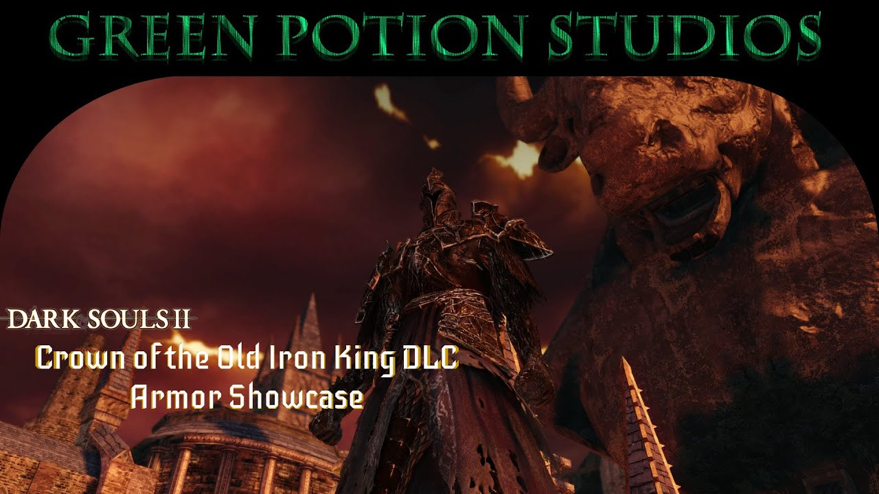 Crown Of The Old Iron King: Dark Souls 2 Crown Of The Old Iron King Armor Showcase