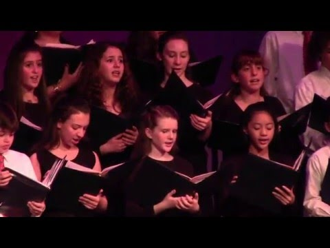 Academy of Notre Dame Middle School Christmas Concert 2015