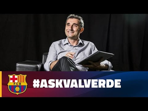#AskValverde: Ernesto Valverde answers questions from the fans