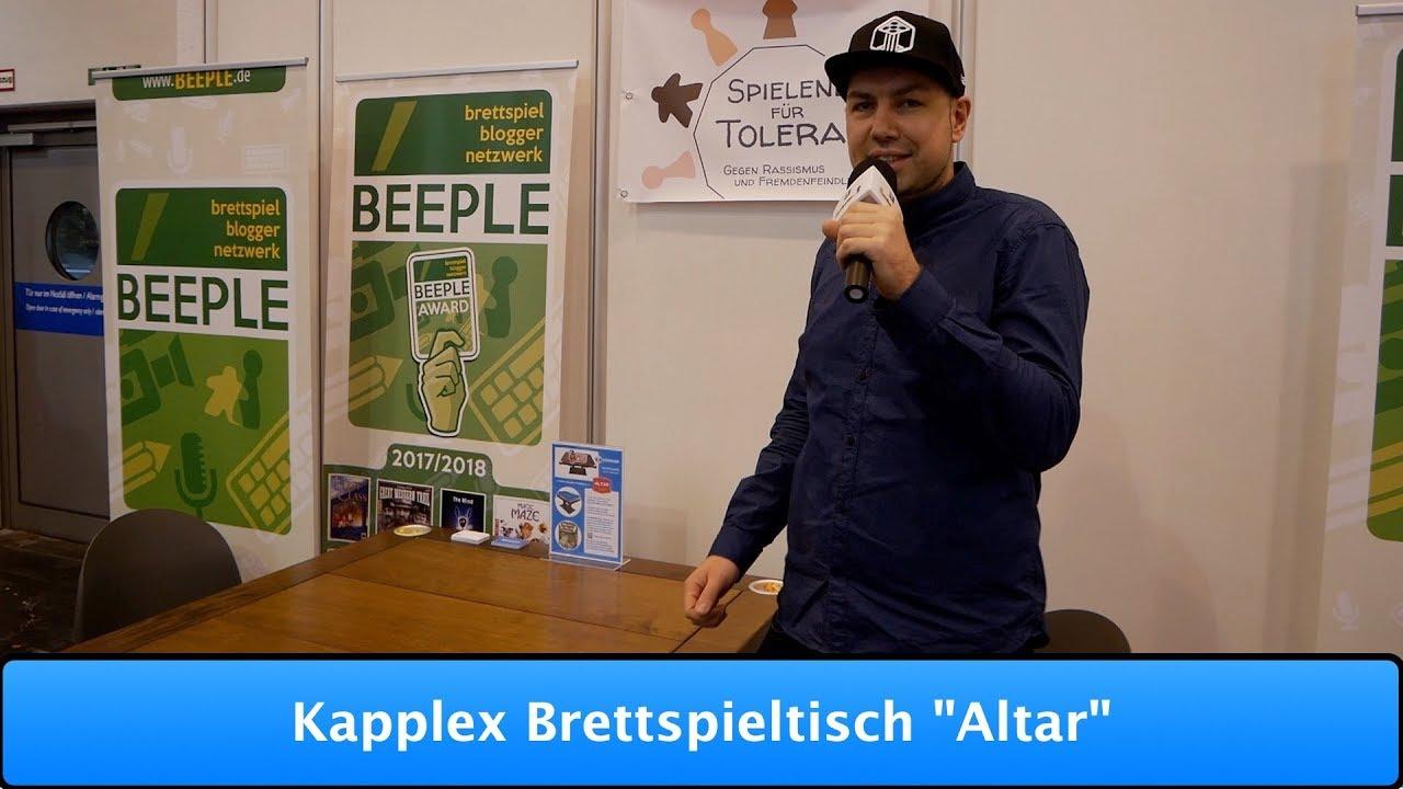 """kapplex brettspieltisch """"altar"""" - youtube"""