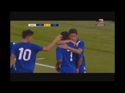 Tercer gol de Guatemala ante Curazao - Campeonato Sub 20 de Concacaf