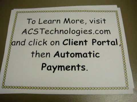 Online Payments with ACS Technologies
