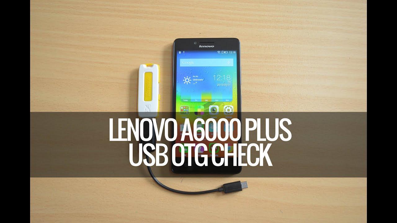 Lenovo a6000 otg support update